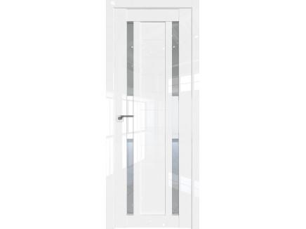 Двери межкомнатные Profil Doors 15L Белый люкс стекло прозрачное