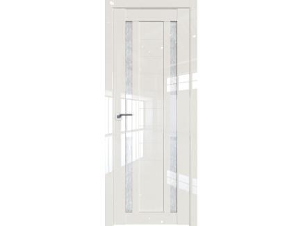 Двери межкомнатные Profil Doors 15L Магнолия люкс стекло дождь белый
