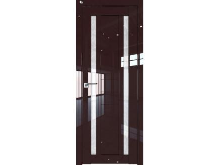 Двери межкомнатные Profil Doors 15L Терра стекло дождь белый