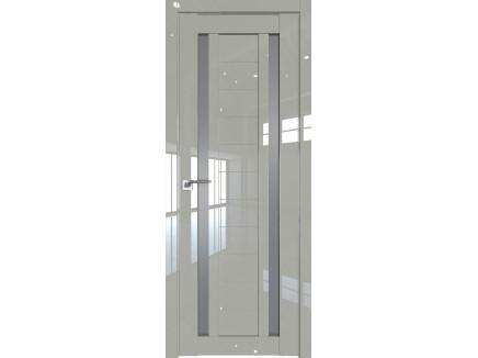 Двери межкомнатные Profil Doors 15L галька люкс стекло графит