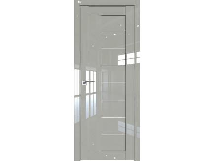 Двери межкомнатные Profil Doors 17L Галька люкс триплекс белый