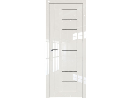 Двери межкомнатные Profil Doors 17L Магнолия люкс дождь чёрный