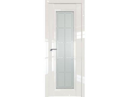 Двери межкомнатные Profil Doors 2.101L Магнолия люкс стекло гравировка10