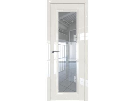 Двери межкомнатные Profil Doors 2.101L Магнолия люкс стекло прозрачное
