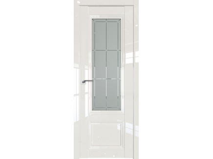 Двери межкомнатные Profil Doors 2.103L Магнолия люкс стекло гравировка1