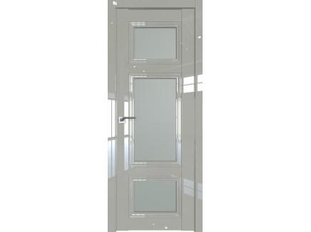 Двери межкомнатные Profil Doors 2.105L Галька люкс стекло матовое