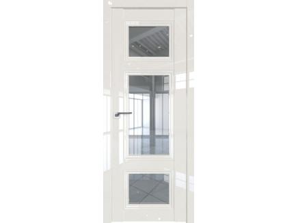 Двери межкомнатные Profil Doors 2.105L Магнолия люкс стекло прозрачное