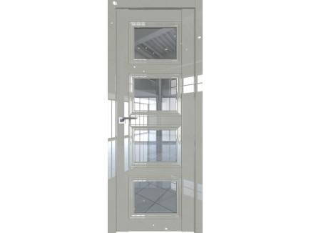 Двери межкомнатные Profil Doors 2.107L Галька люкс стекло прозрачное