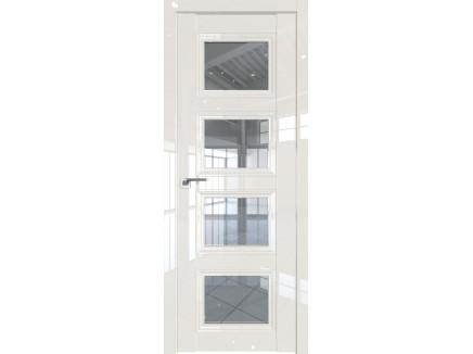 Двери межкомнатные Profil Doors 2.107L Магнолия люкс стекло прозрачное