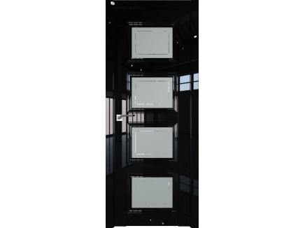 Двери межкомнатные Profil Doors 2.107L Чёрный люкс гравировка 4