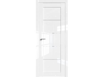 Двери межкомнатные Profil Doors 2.11L Белый люкс стекло прозрачное