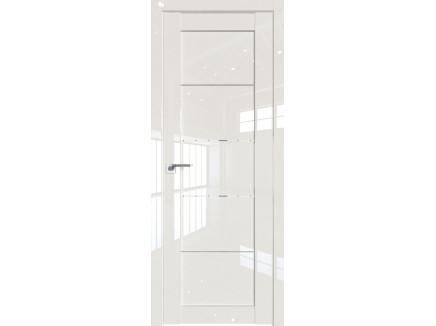 Двери межкомнатные Profil Doors 2.11L Магнолия люкс стекло прозрачное