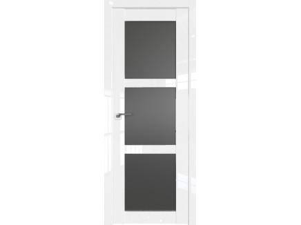 Двери межкомнатные Profil Doors 2.13L Белый люкс стекло графит