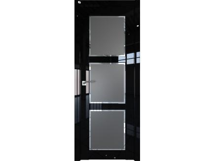 Двери межкомнатные Profil Doors 2.13L Чёрный люкс square графит