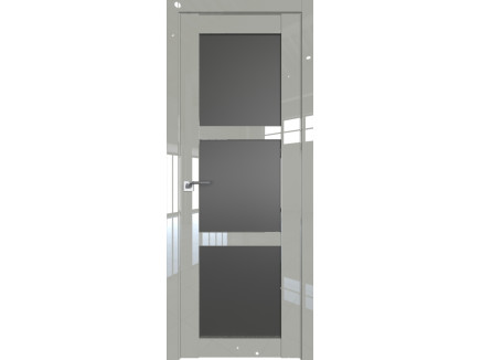 Двери межкомнатные Profil Doors 2.13L галька люкс стекло графит