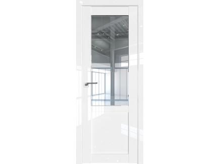 Двери межкомнатные Profil Doors 2.17L Белый люкс стекло прозрачное