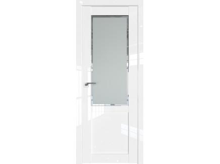 Двери межкомнатные Profil Doors 2.17L Белый люкс стекло square матовое