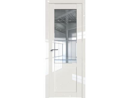 Двери межкомнатные Profil Doors 2.17L Магнолия люкс стекло прозрачное