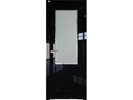 Двери межкомнатные Profil Doors 2.17L Чёрный люкс square матовое