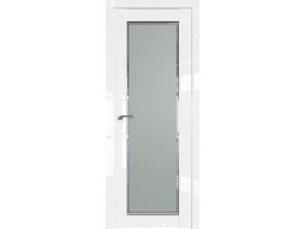 Двери межкомнатные Profil Doors 2.19L Белый люкс стекло square матовое