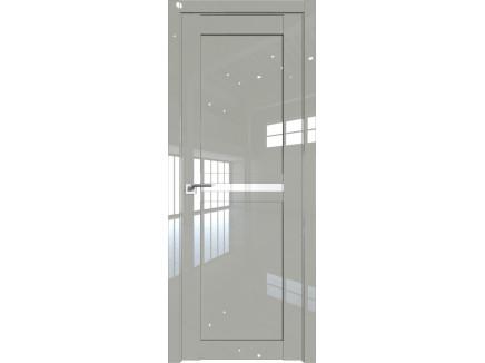 Двери межкомнатные Profil Doors 2.43L Галька люкс триплекс белый