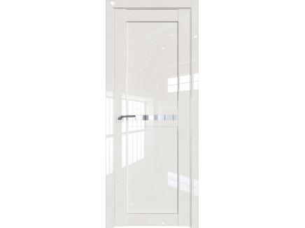 Двери межкомнатные Profil Doors 2.43L Магнолия люкс прозрачное