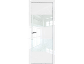 Двери межкомнатные Profil Doors 10LK CHROME Белый люкс лак белый