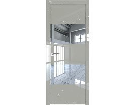 Двери межкомнатные Profil Doors 10LK CHROME Галька люкс зеркало