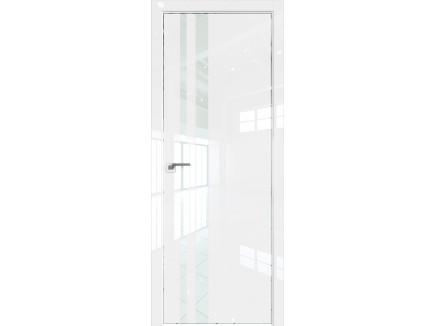 Двери межкомнатные Profil Doors 16LK CHROME Белый люкс лак белый