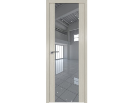 Двери межкомнатные Profil Doors 110N Дуб Скай Белёный зеркало