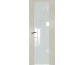Двери межкомнатные Profil Doors 110N Дуб Скай Белёный лак белый
