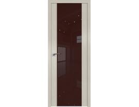 Двери межкомнатные Profil Doors 110N Дуб Скай Белёный лак коричневый