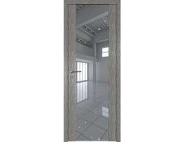 Двери межкомнатные Profil Doors 110N Дуб Скай Деним зеркало