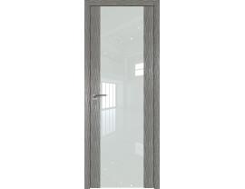 Двери межкомнатные Profil Doors 110N Дуб Скай Деним лак белый