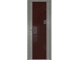 Двери межкомнатные Profil Doors 110N Дуб Скай Деним лак коричневый