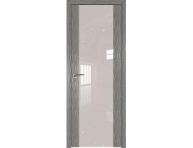 Двери межкомнатные Profil Doors 110N Дуб Скай Деним лак перламутровый
