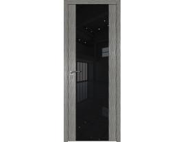 Двери межкомнатные Profil Doors 110N Дуб Скай Деним лак чёрный