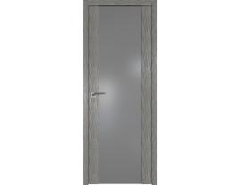 Двери межкомнатные Profil Doors 110N Дуб Скай Деним серебро матлак