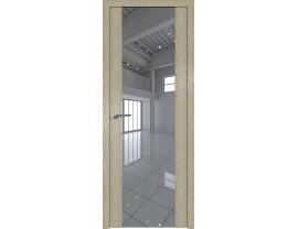 Двери межкомнатные Profil Doors 110N Дуб Скай Крем зеркало