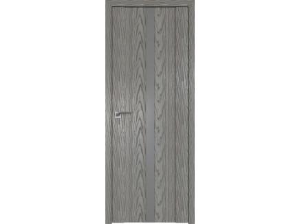 Двери межкомнатные Profil Doors 2.04N Дуб Скай Деним серебро матлак
