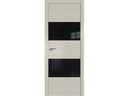 Двери межкомнатные Profil Doors 10NK Дуб скай белёный лак чёрный