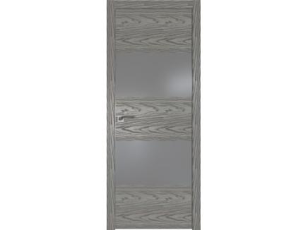 Двери межкомнатные Profil Doors 10NK Дуб скай деним серебро матлак