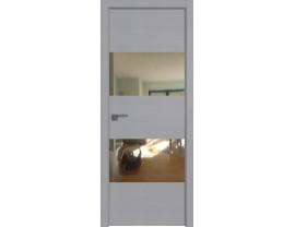 Двери межкомнатные Profil Doors 10STK Pine Manhattan Grey зеркало