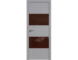 Двери межкомнатные Profil Doors 10STK Pine Manhattan Grey коричневый лак