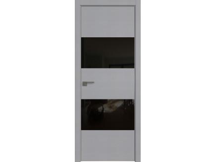 Двери межкомнатные Profil Doors 10STK Pine Manhattan Grey чёрный лак