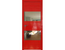 Двери межкомнатные Profil Doors 10STK Pine Red glossy зеркало