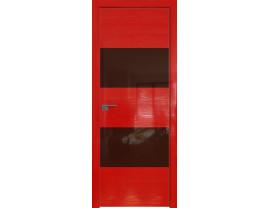 Двери межкомнатные Profil Doors 10STK Pine Red glossy коричневый лак