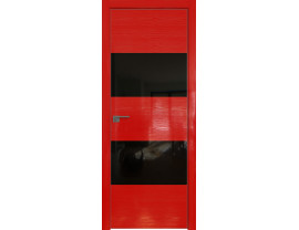 Двери межкомнатные Profil Doors 10STK Pine Red glossy чёрный лак