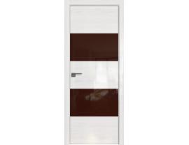 Двери межкомнатные Profil Doors 10STK Pine White glossy коричневый лак