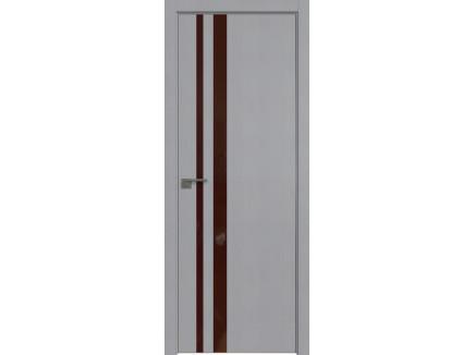 Двери межкомнатные Profil Doors 16STK Pine Manhattan Grey коричневый лак